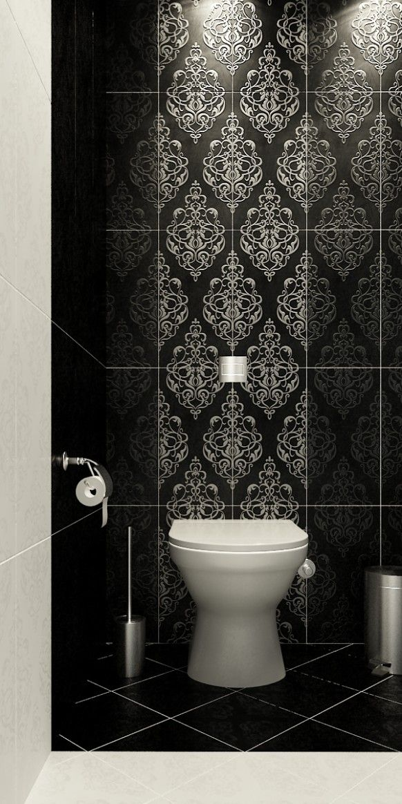 Bathroom Tile Design Tool Alluring Black And White Half Bathmeasure Diagonal Tile Cuts On Floor Inspiration