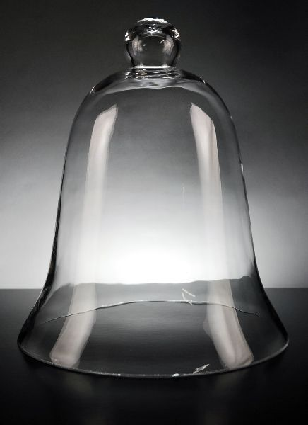 Glass Bell Jars 11.5x 9 in. Clear Glass $17 each/ 6 for $11 each