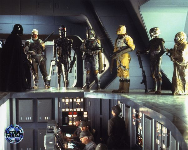The Bounty Hunters scene from 'Episode V: The Empire Strikes Back ...