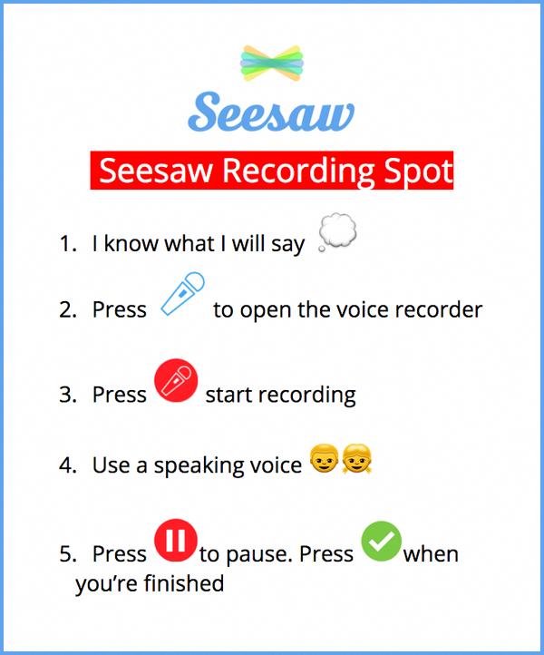 digitaltechnologyteaching Seesaw app
