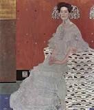 """Ritratto di Fritza Riedler"", Gustav Klimt, 1906, pittura ad olio"