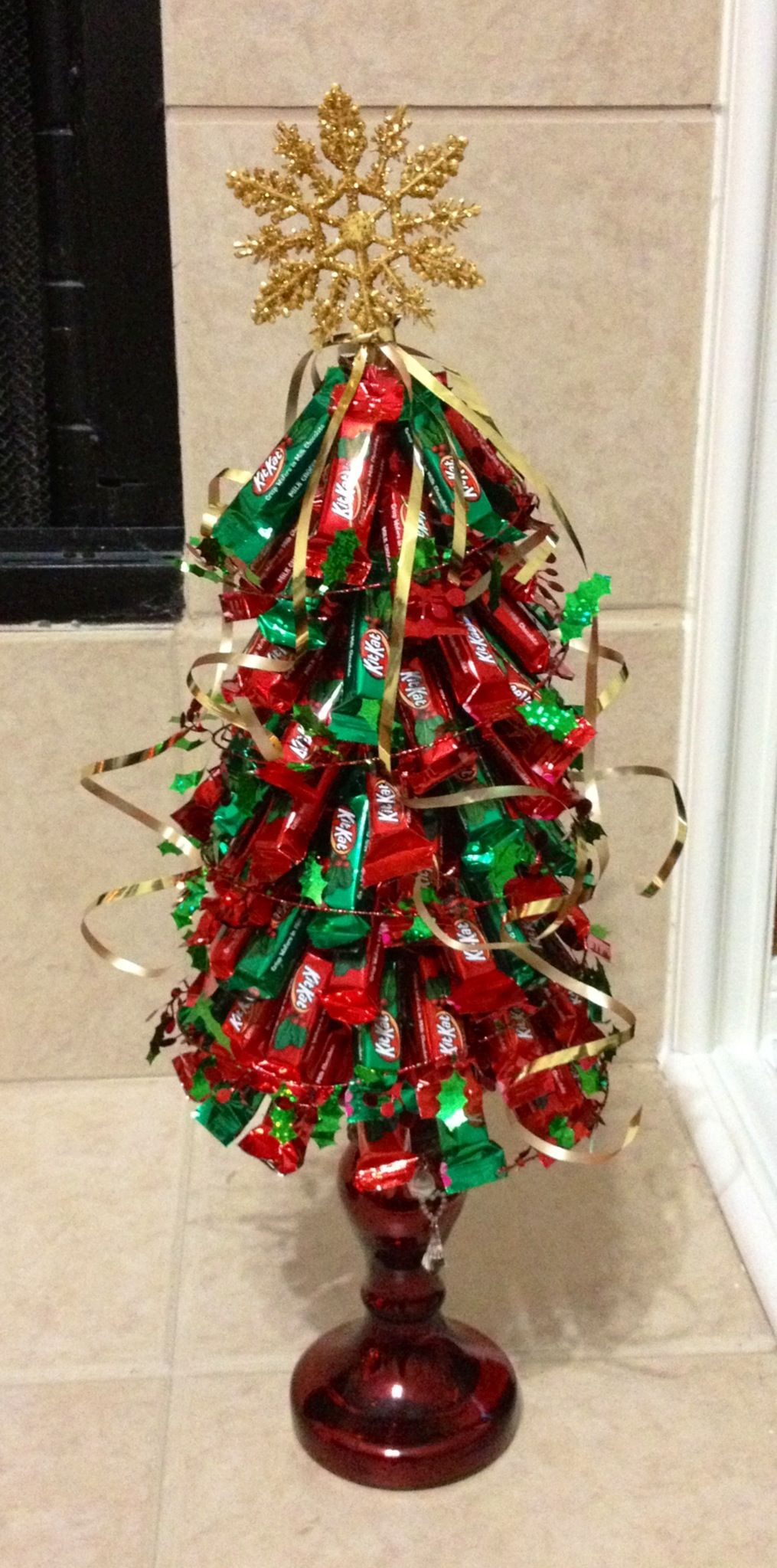 Kit Kat Christmas tree! | Holiday food | Pinterest | Christmas ...