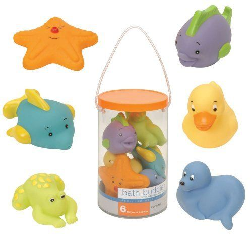 6 x BABY SQUIRT BATH RUBBER TOYS BATH TIME SQUIRTING WATER TOY FLOAT FUN