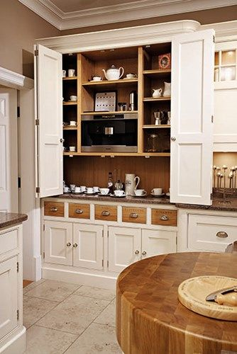 kitchen larder cupboards pantries and units tom howley heart of a home kitchen larder. Black Bedroom Furniture Sets. Home Design Ideas