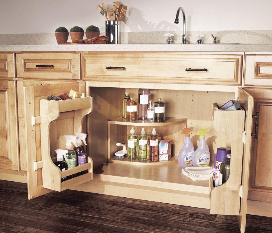 Merillat Masterpiece Base Multi Storage Sink Base Cabinet Kitchen Cabinet Accessories Amish Kitchen Cabinets Cabinet Accessories