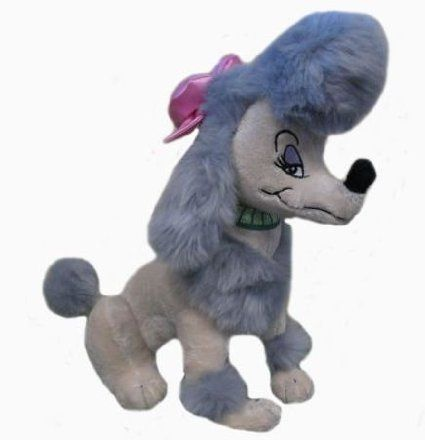 Amazon Com Disney Oliver Company 12 Georgette Plush Toys