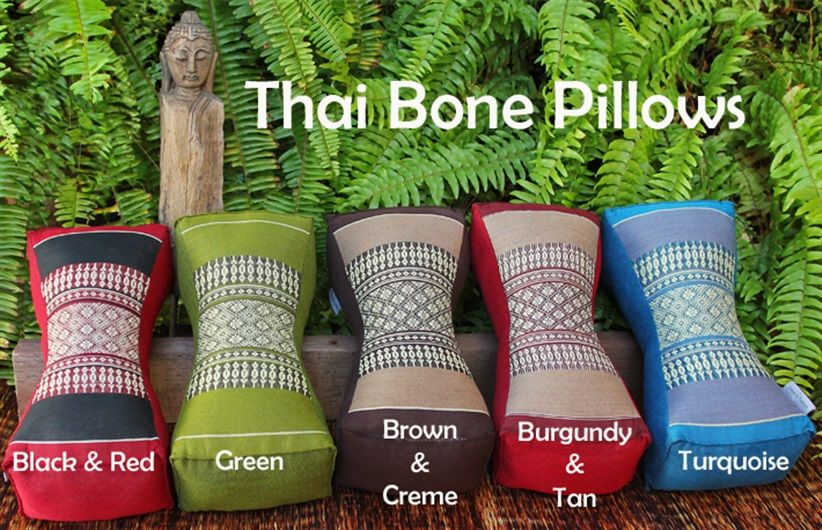 Thai Bone Pillows