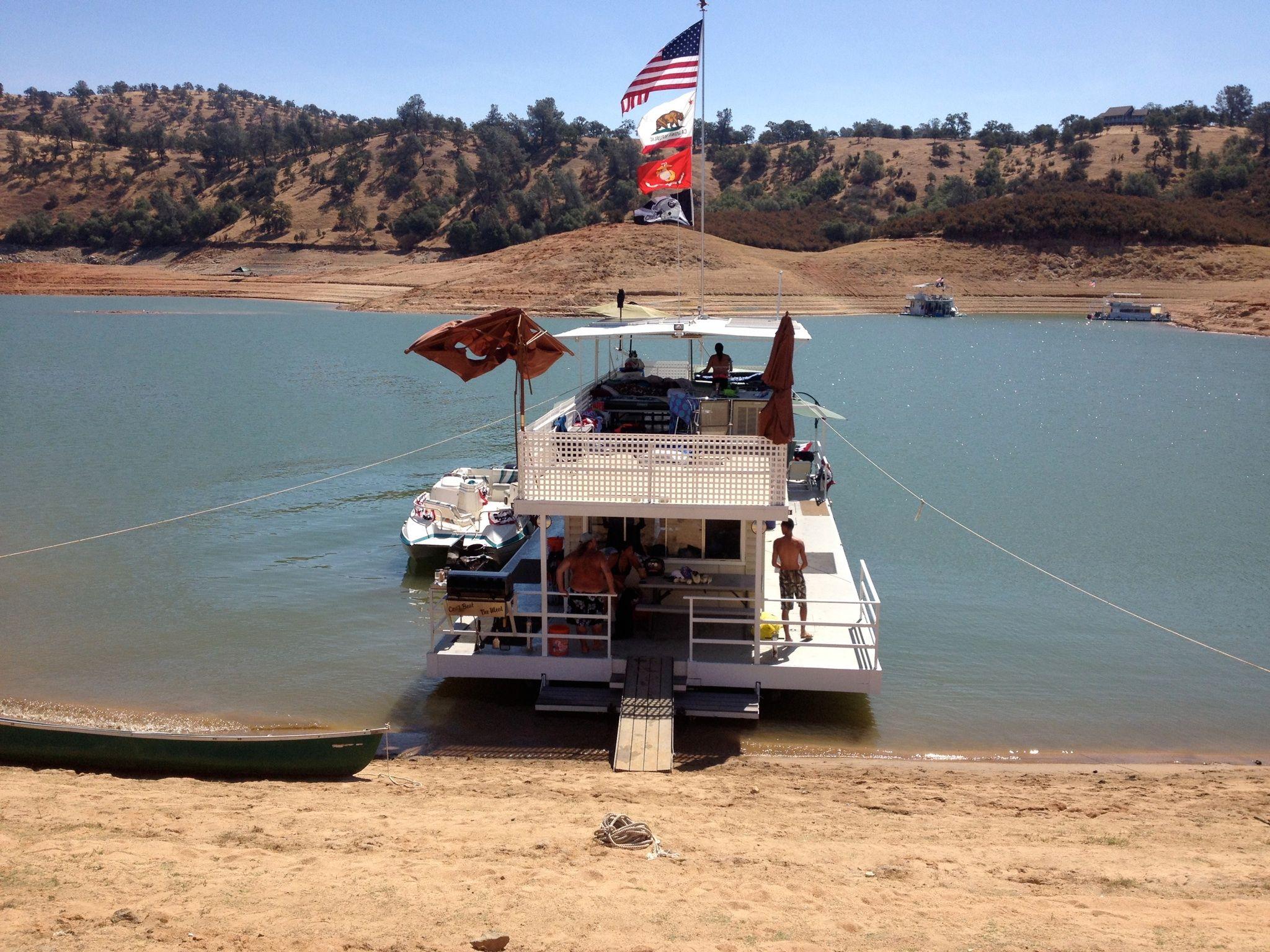 Houseboating at lake don pedro so much fun