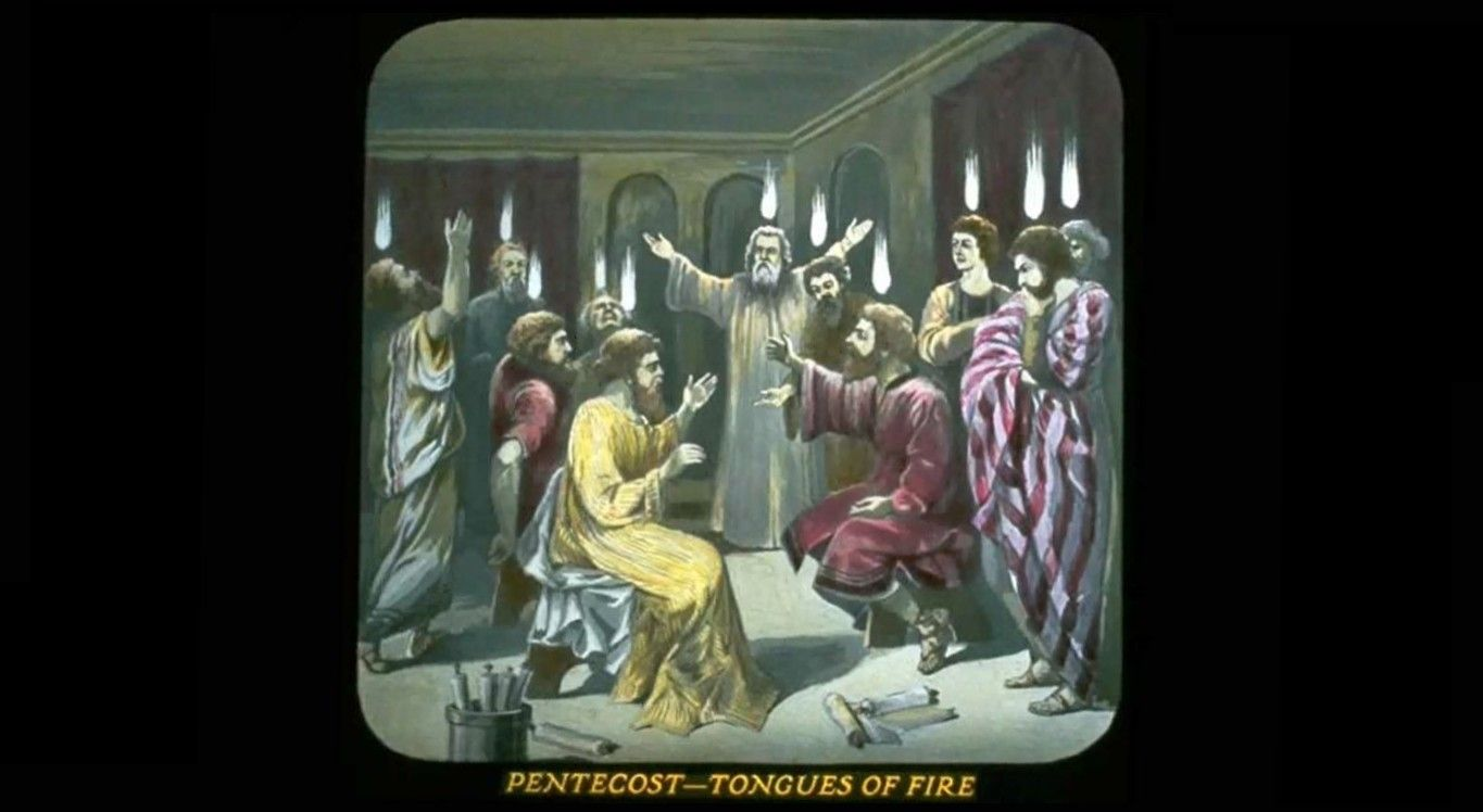 Bible Pentecost Tongues Of Fire