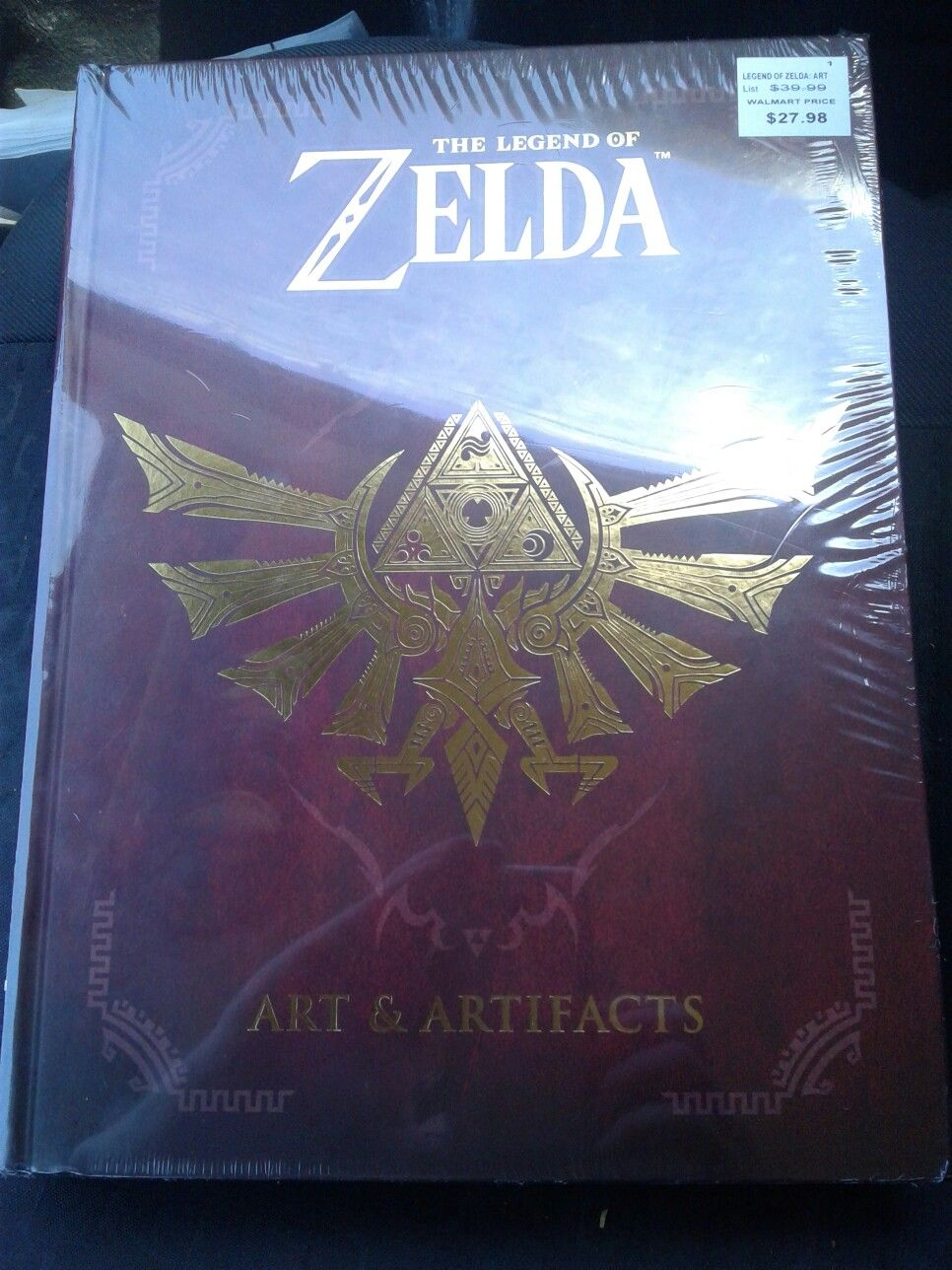 Huge zelda fan and just bought this legend of zelda art