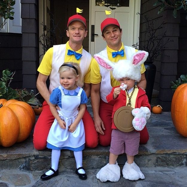 Neil Patrick Harris And His Family Are Perfect At Halloween Once - family halloween costume ideas with baby