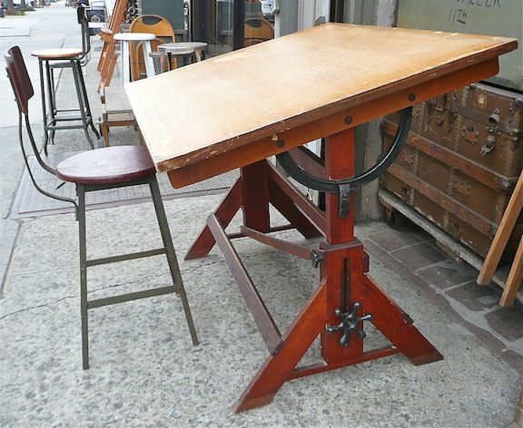 Vintage Drafting Table Google Search 2nd Empire In