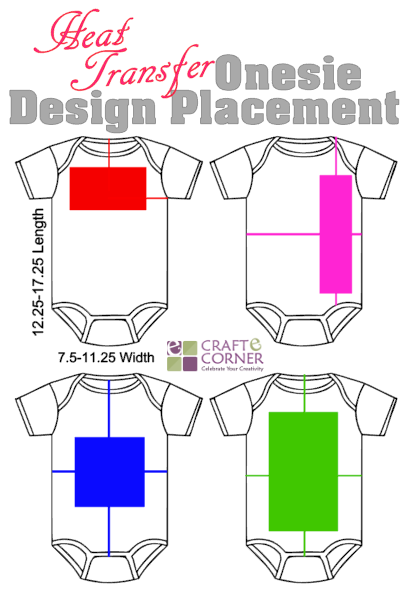 How to Align and Size Heat Transfer Vinyl (HTV) Designs ...