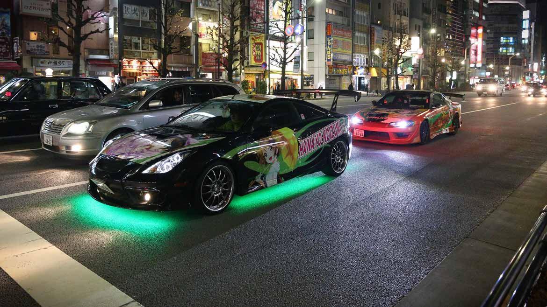 Itasha car culture in Akihabara | InsideJapan Tours ...