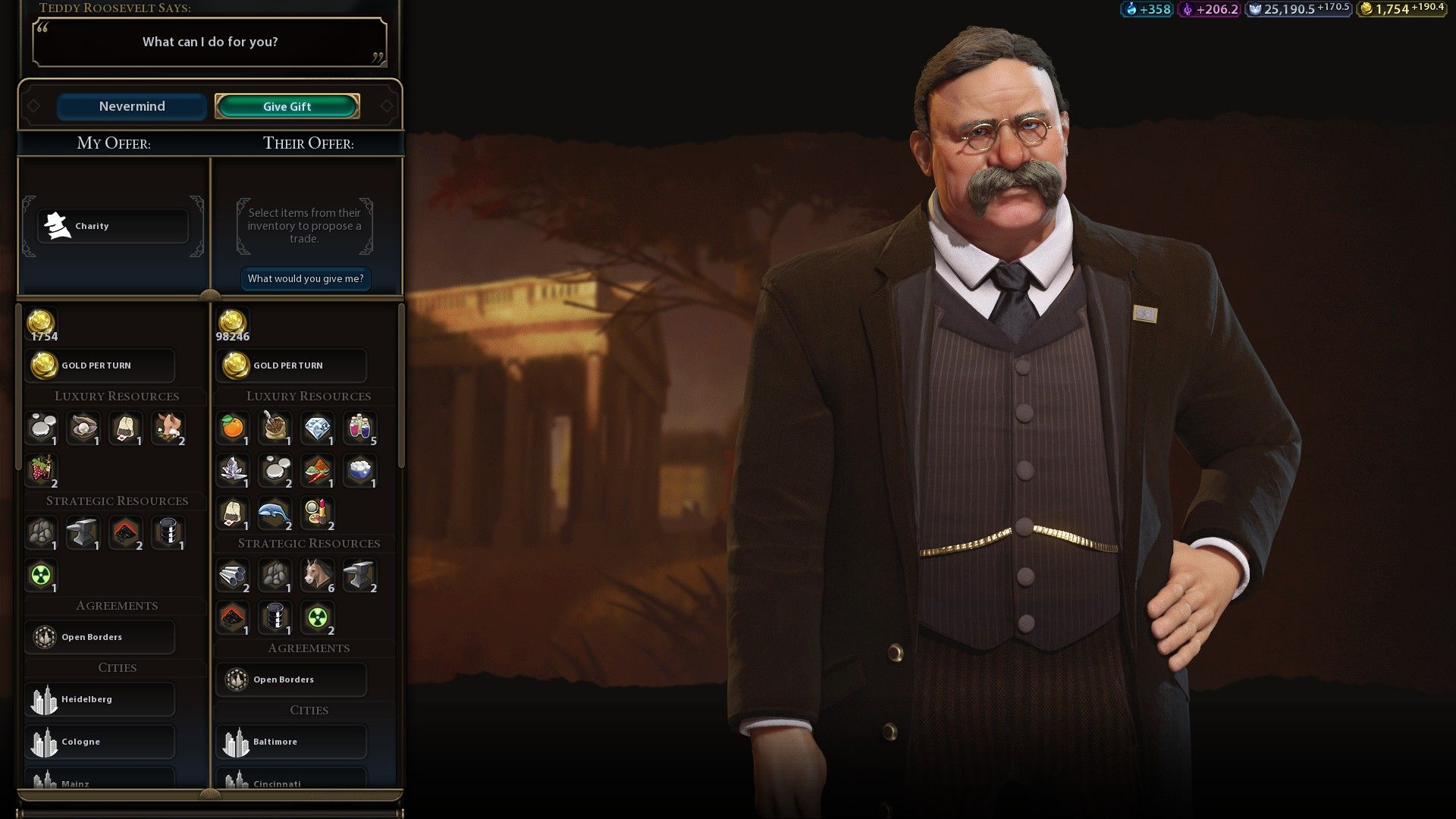 Can anyone explain how/why Teddy went from <1000 gold to over 90k in 5-10 turns? #CivilizationBeyondEarth #gaming #Civilization #games #world #steam #SidMeier #RTS