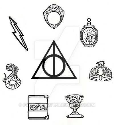 Images Of The Horcruxs Google Search Harry Potter Symbols Horcrux Tattoo Harry Potter Tattoos