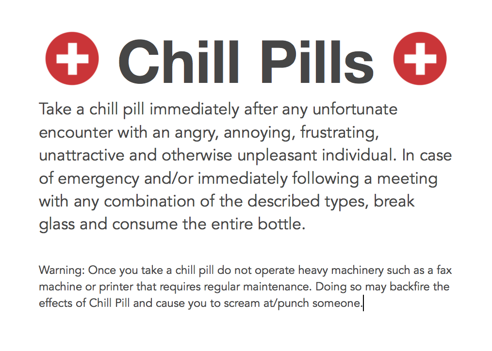 chill pill template as a cute idea on a mm jar or candy jar