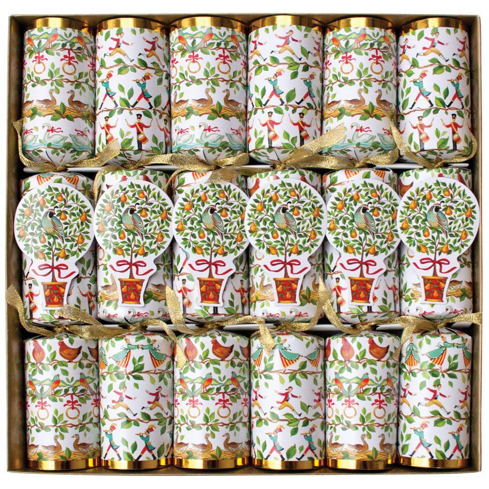 Twelve Days of Christmas Celebration Christmas Crackers