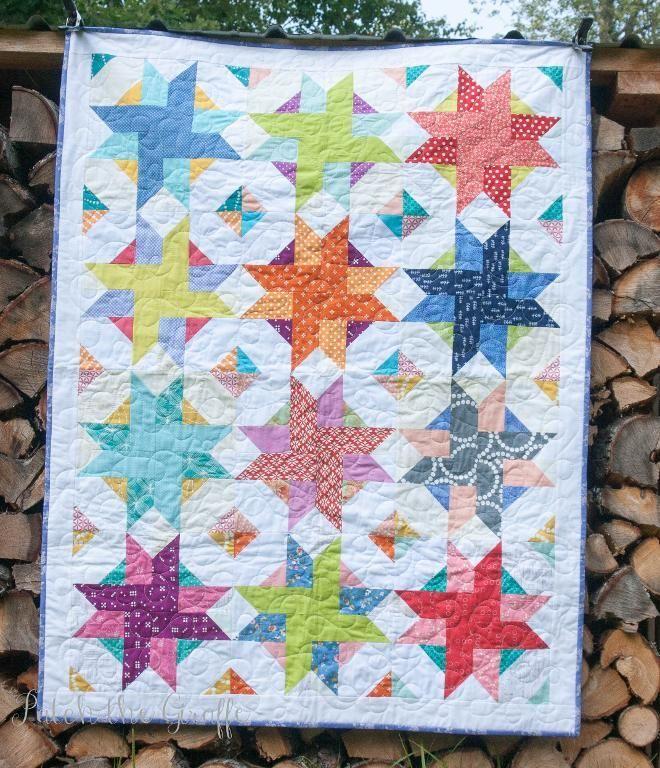 Free Pattern Picnic Pinwheels by designer PatchtheGiraffe. | Quilts ...