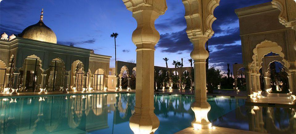 Luxury Life Design Palais Namaskar Hotel Spa In Marrakech