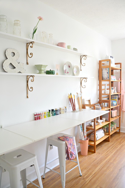 Garage Creative Studio Pop Up Shop Reveal One Room Challenge