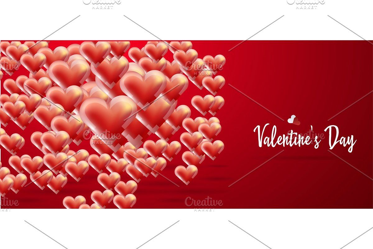 Floating In The Air Air Hearts In 2020 Happy Valentines Day Balloons Happy Valentine