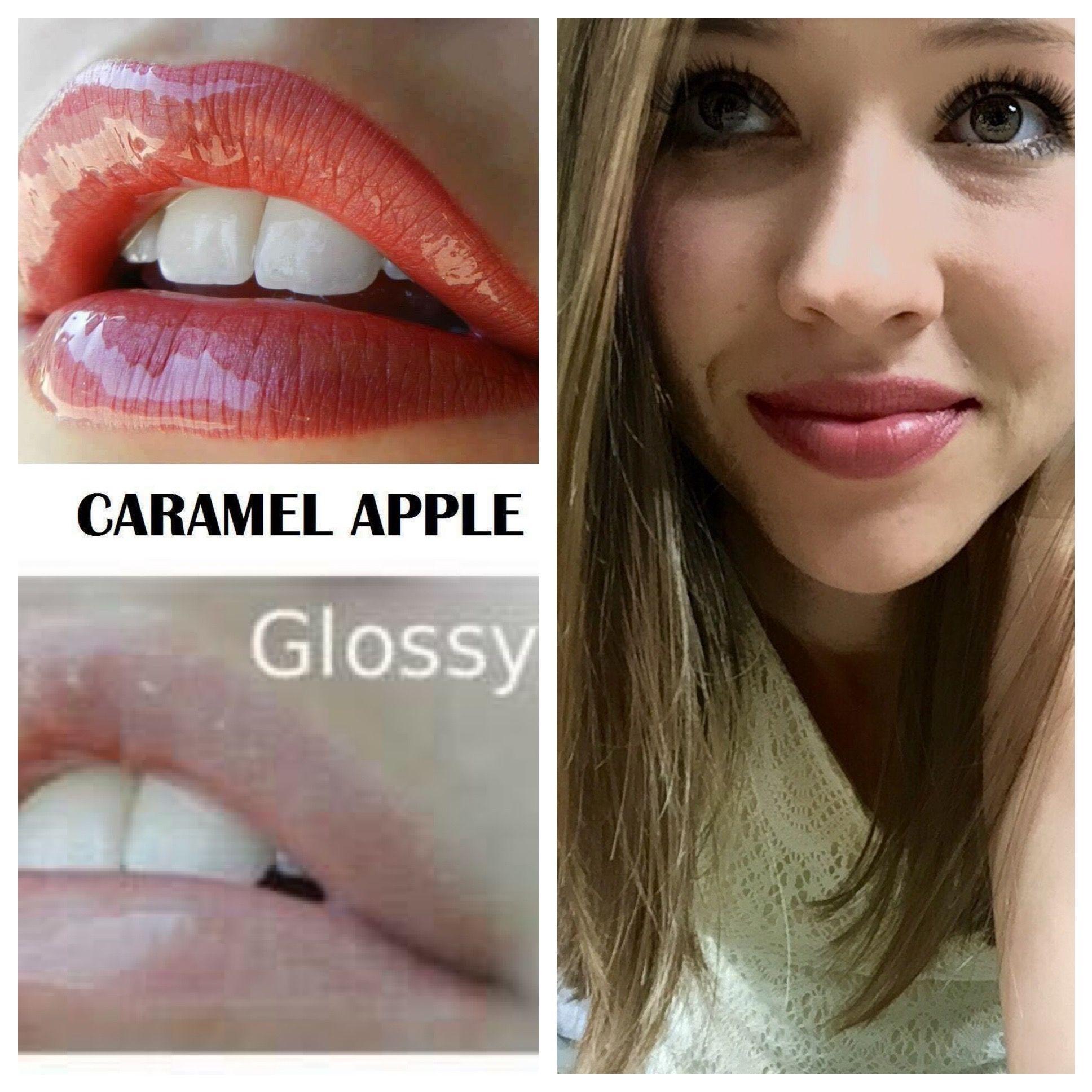 LipSense Caramel Apple & Glossy Gloss