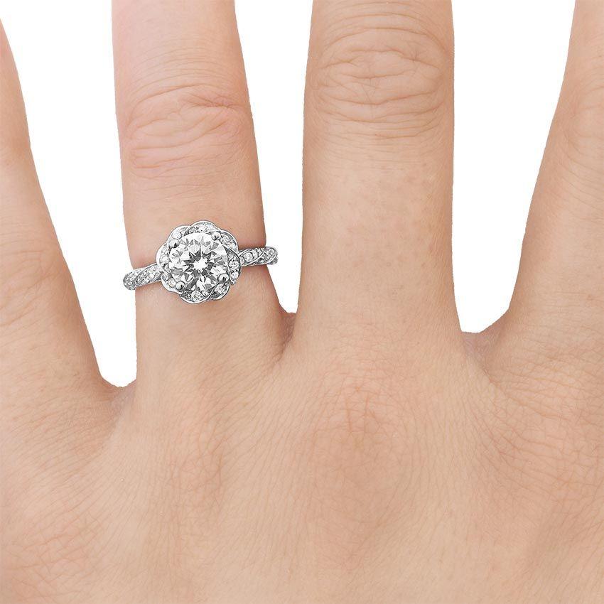18K White Gold Cordoba Diamond Ring Wedding ideas Pinterest