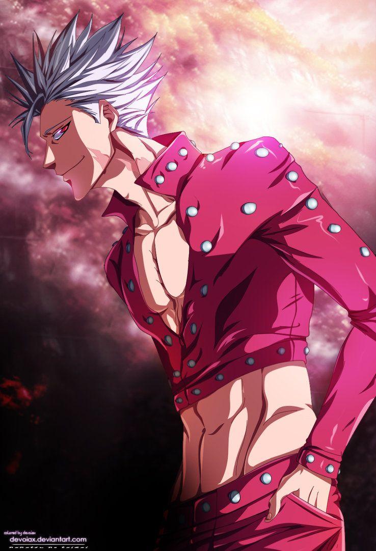 Ban Seven Deadly Sins Fanart : seven, deadly, fanart, Immortal, Devoiax., Nanatsu, Taizai, Seven, Deadly, Anime,, Anime, Wallpaper,