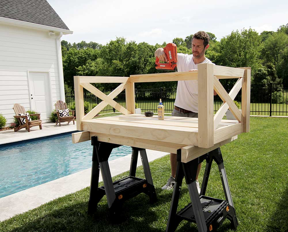 How to Build a Crib Mattress Porch Swing in 2020 Porch