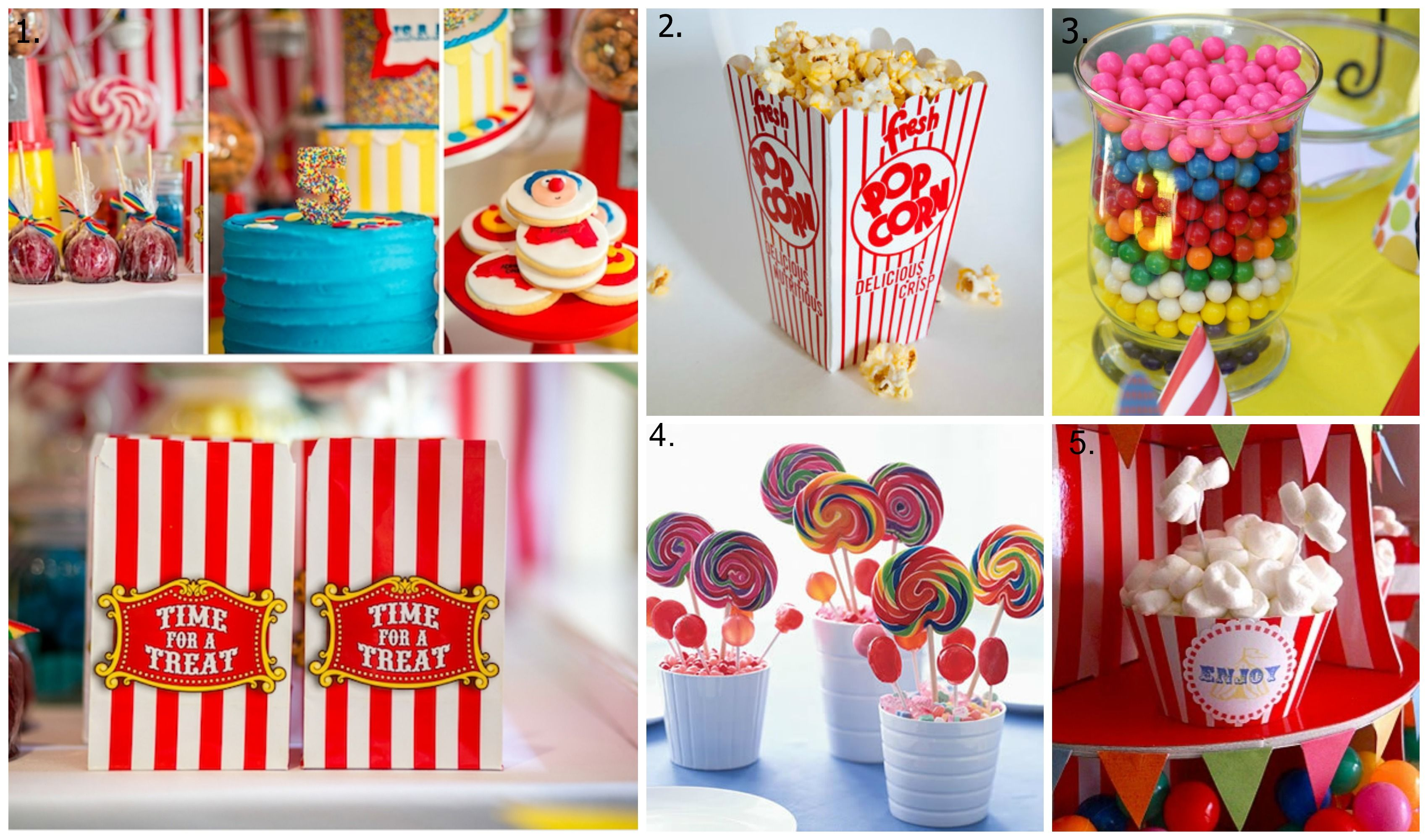 Circus party food ideas oh baby pinterest circus party foods circus party and mystery - Carnival party menu ...