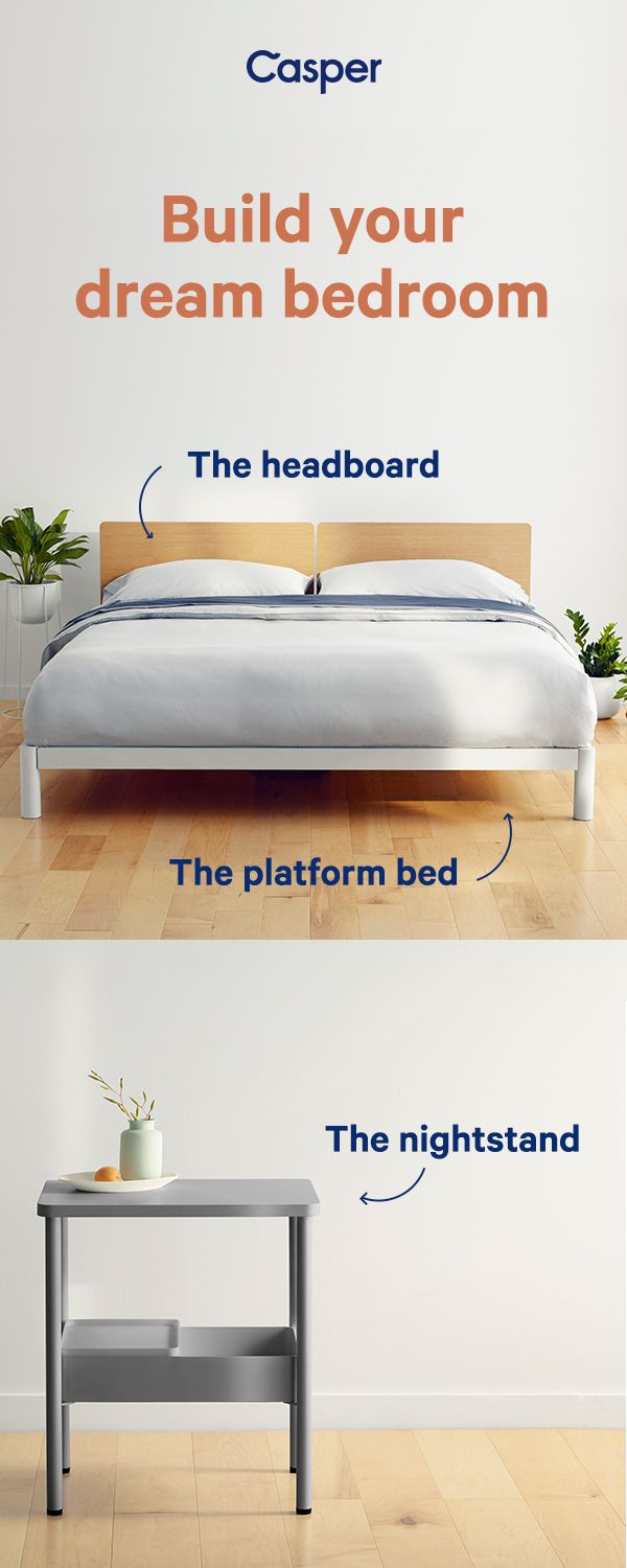 A Bedroom Look You Ll Love Waking Up To Shop The Casper Platform