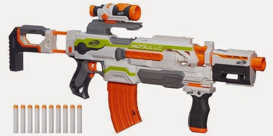Nerf N-Strike Modulus ECS-10 Blaster Strike Dart Gun 30 + Combinations
