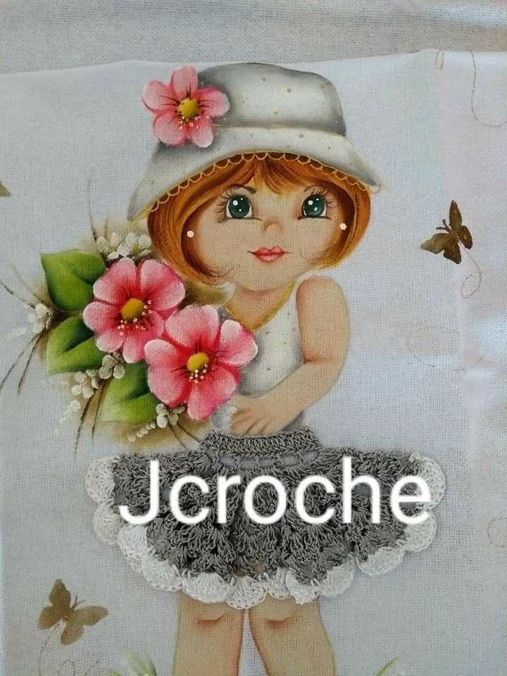 Pin de Lucelene Rosa em Pintura em Tecido Bonecas | Rosto ...