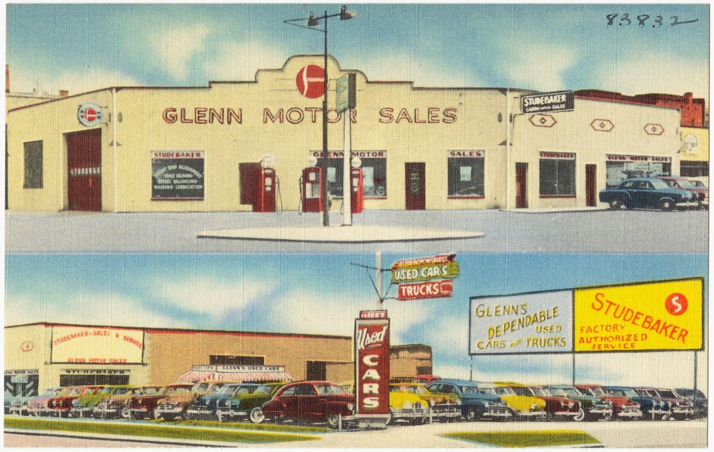 Studebaker Dealership Studebaker, Car dealership