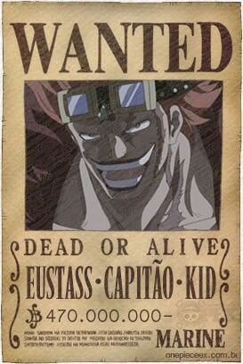 Poster A3 One Piece Kaido Yonkou Recompensa Se Busca Wanted Bounty Cartel