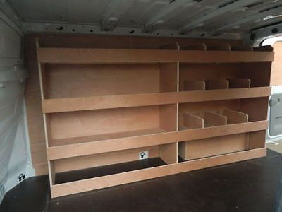 Ford Transit Custom Swb Off Side 12 Compartment Plywood