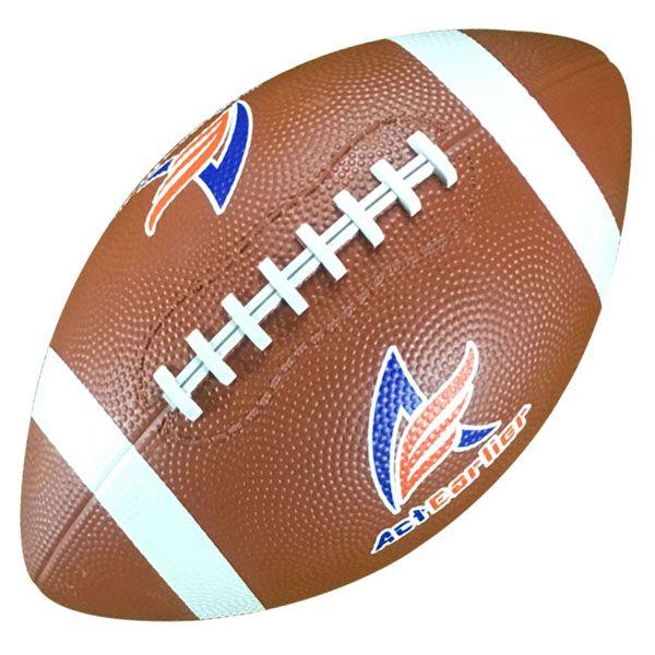 Esportes de Rugby Bolas de Rugby Oficial Tamanho 9 Bola de Rugby Futebol  Americano de Borracha 5531c26910e49