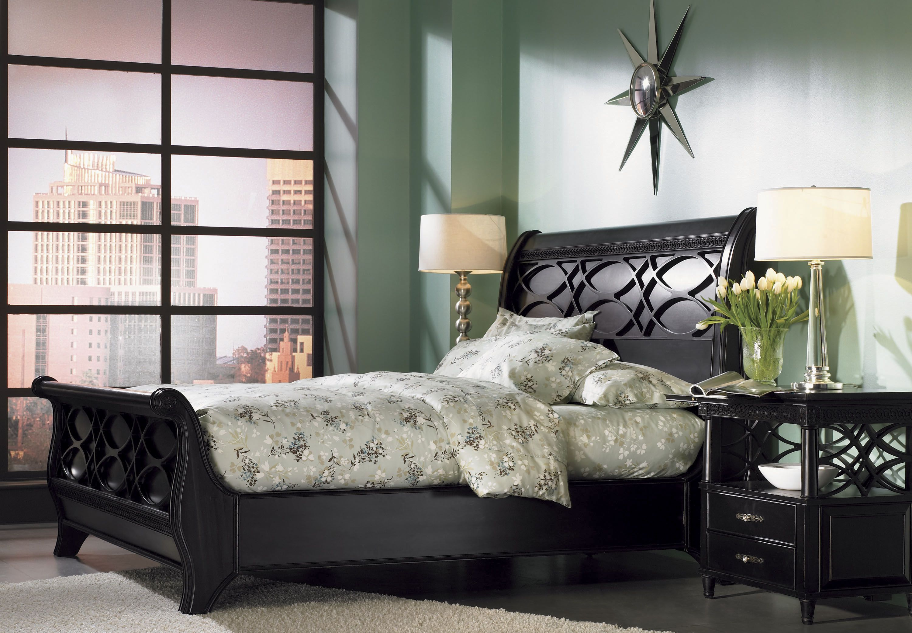 New Bedford Sleigh Bed Sleigh Bedroom Set Furniture Bed