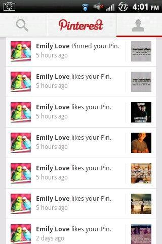 Thanx Emily! Jk love you