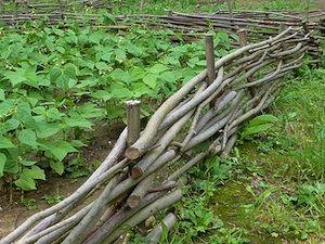 Bordure tressée | jardin | Jardins, Bordure jardin et Potager