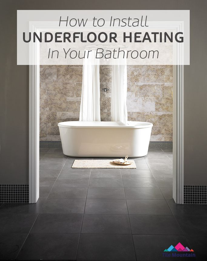Delightful How To Lay And Install Underfloor Heating Mats