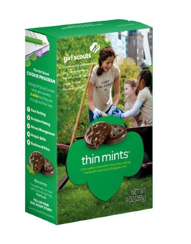 The most popular Girl Scout cookie where YOU live