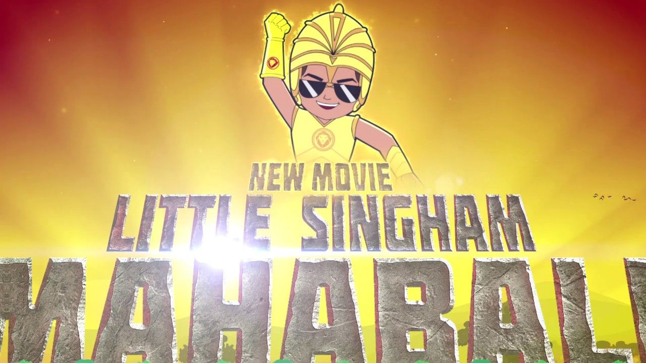 New Movie Little Singham Mahabali Sat 12th Oct At 12 Pm Discovery Kids Discovery Kids New Movies Kids Shows