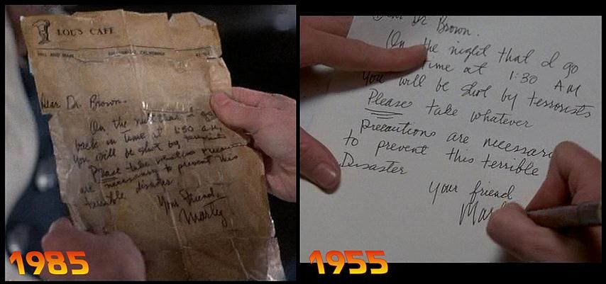 Back To The Future Prop MartyS Letter To Doc  Company Party