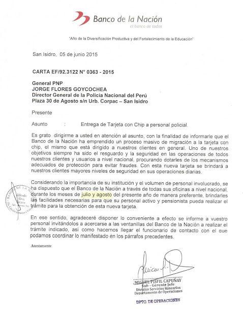 LAS  FUERZAS   DEL   ORDEN  :   FFAA  Y  PNP: NUEVA TARJETA DEL BANCO DE LA NACIÓN PARA PENSDION...