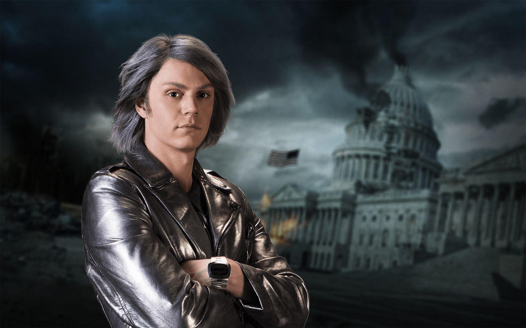 7c147f78b Movie X-Men: Days Of Future Past Quicksilver Evan Peters Future ...