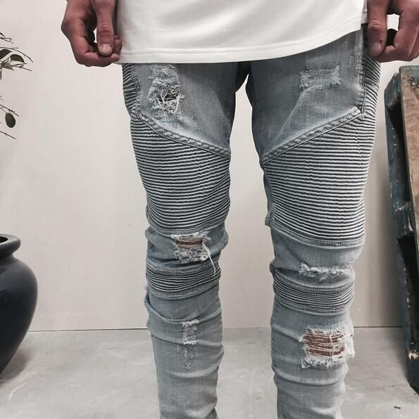 Macho Moda - Blog de Moda Masculina  Calça Biker Jeans 90eb70183a988