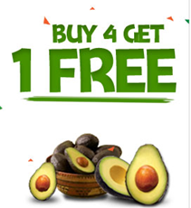 Buy 4 Get 1 FREE Avocados From Mexico Printable Coupon