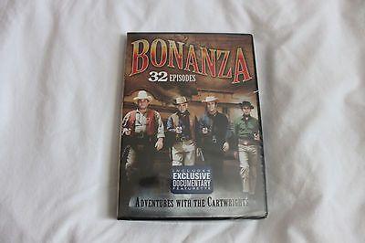 Bonanza TV series 32 episodes 4 DVDs Lorne Greene Michael Landon Wagon Train